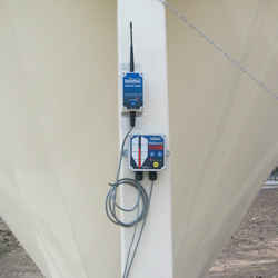 wireless radio on bin